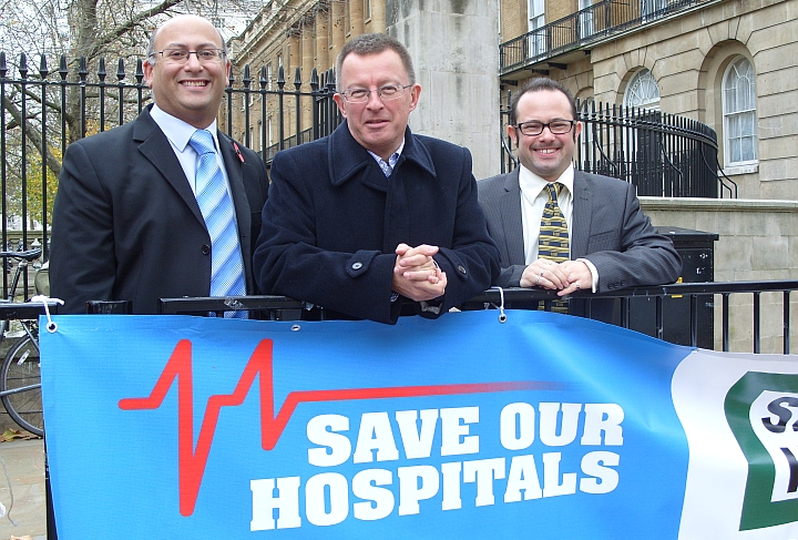 Liberal Democrats want the government to reopen the A&Es shut in West London