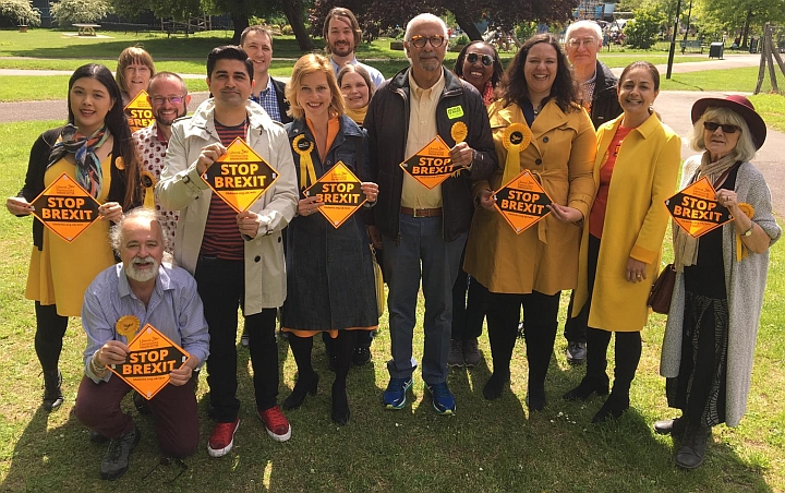 Positive vibe for the Liberal Democrats in Ealing and Chiswick ahead of EU elections