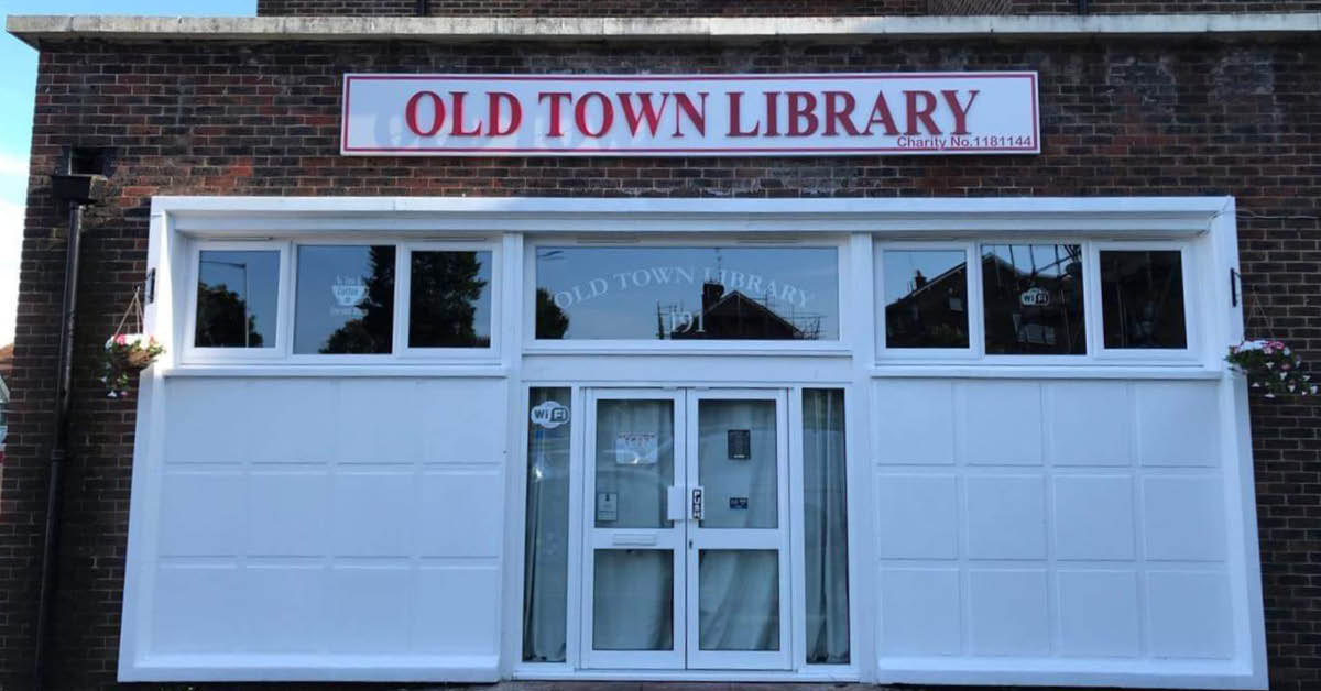 Old Town Library re-opens