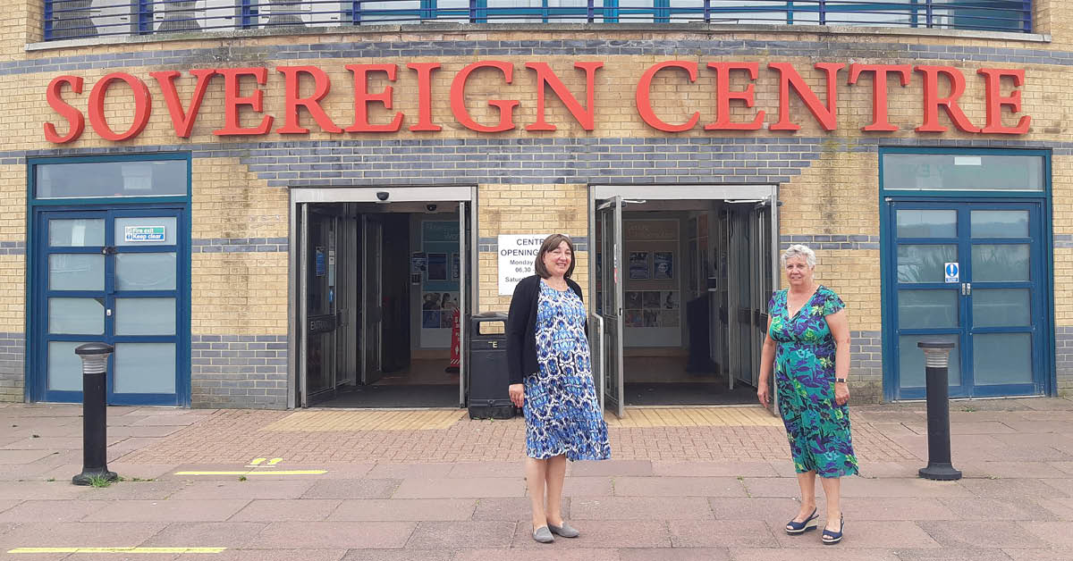 Lib Dem council re-opens Sovereign Centre