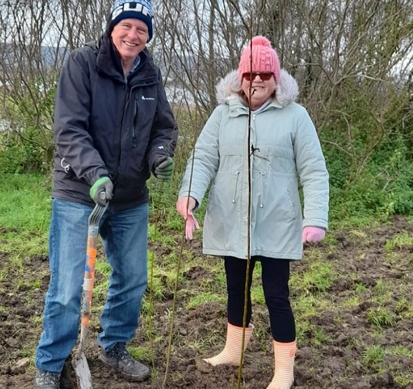 Langney Councillors Support ECO ACTION Tree Planting Project