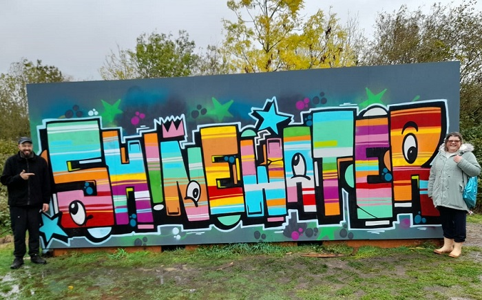 New Murals For Shinewater Park