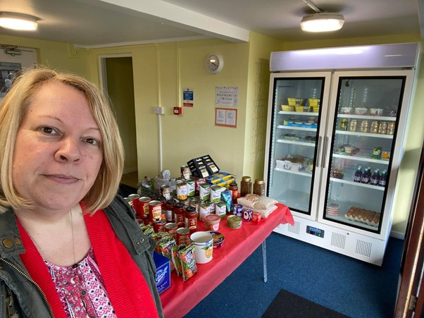 Langney Larder Project Targets Food Poverty