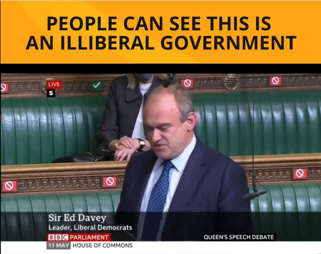 Ed Davey Defending Our Democratic Freedoms