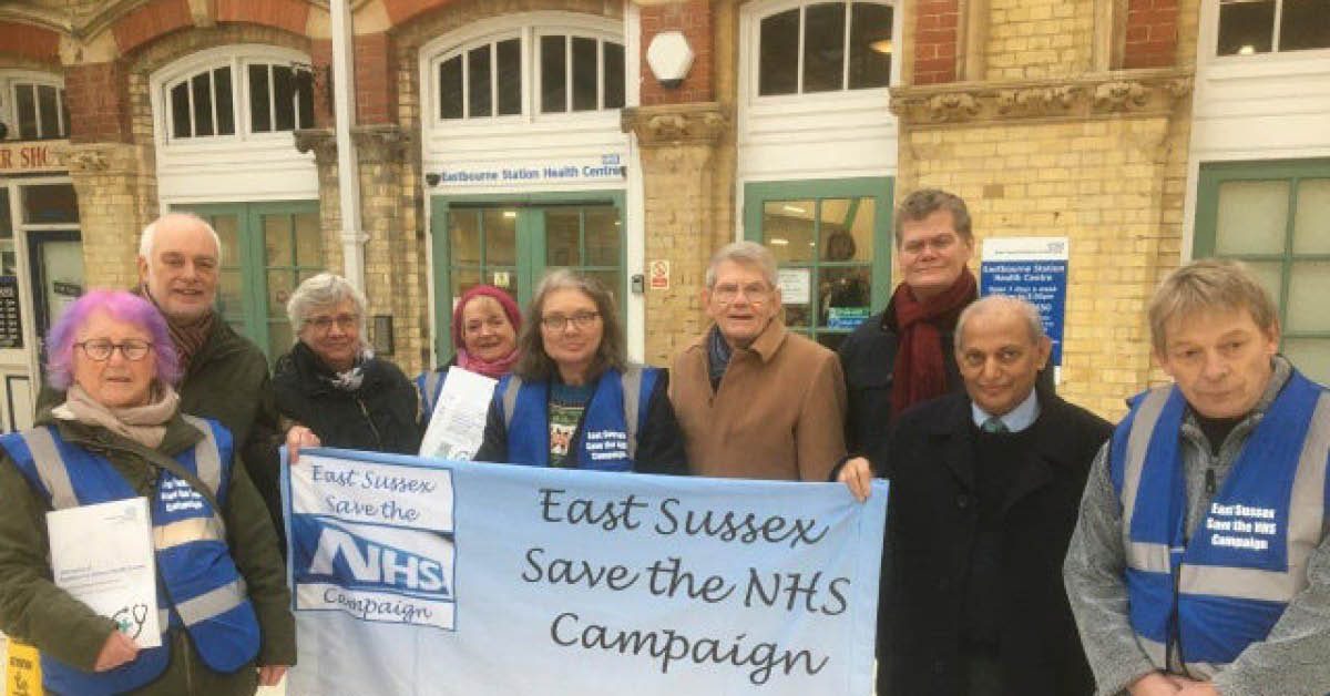Save our NHS walk-in centre in Eastbourne Station