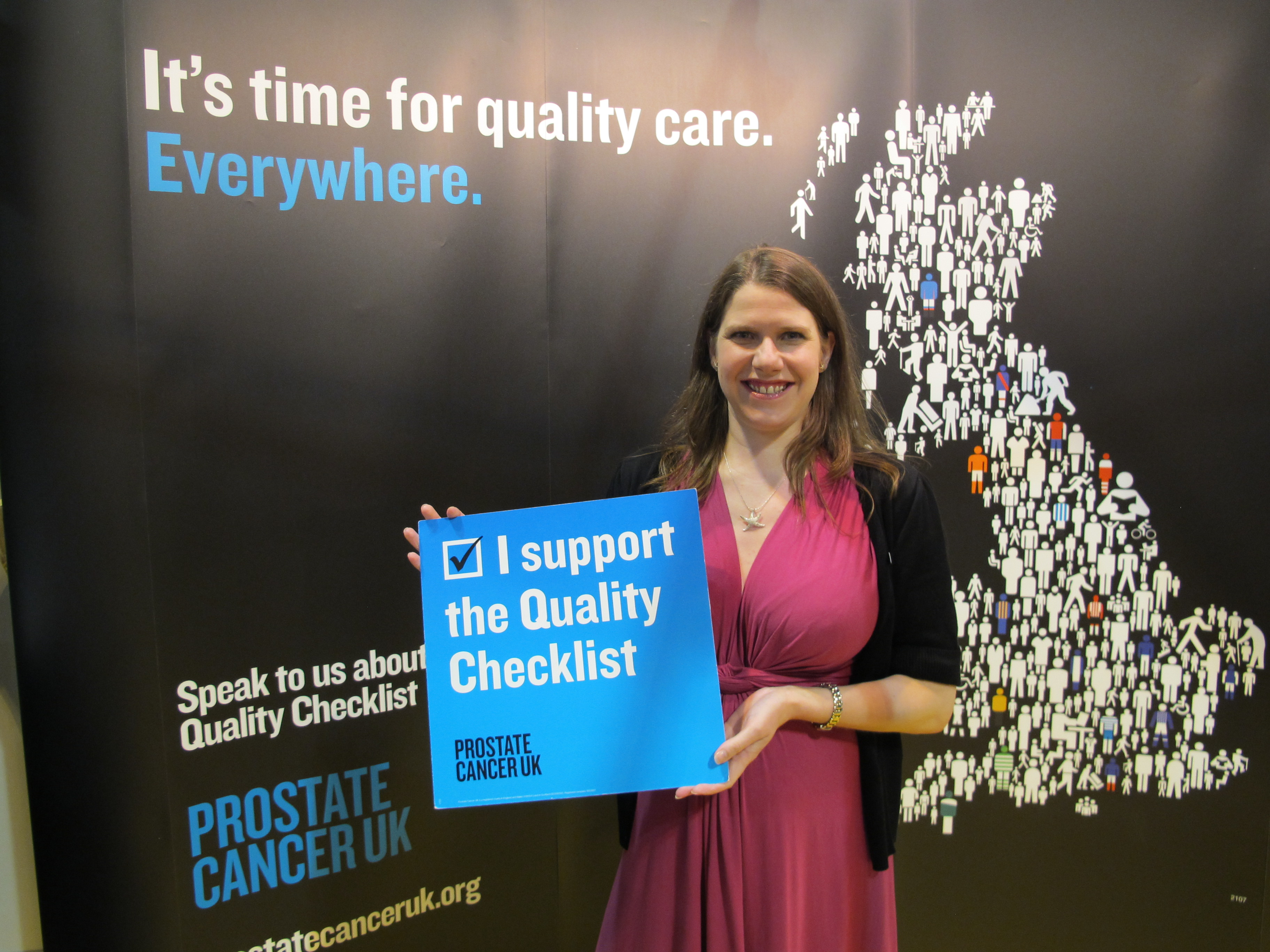 2013-09-20_Jo_Swinson_MP_supports_Prostate_Cancer_UKs_Quality_Checklist.JPG