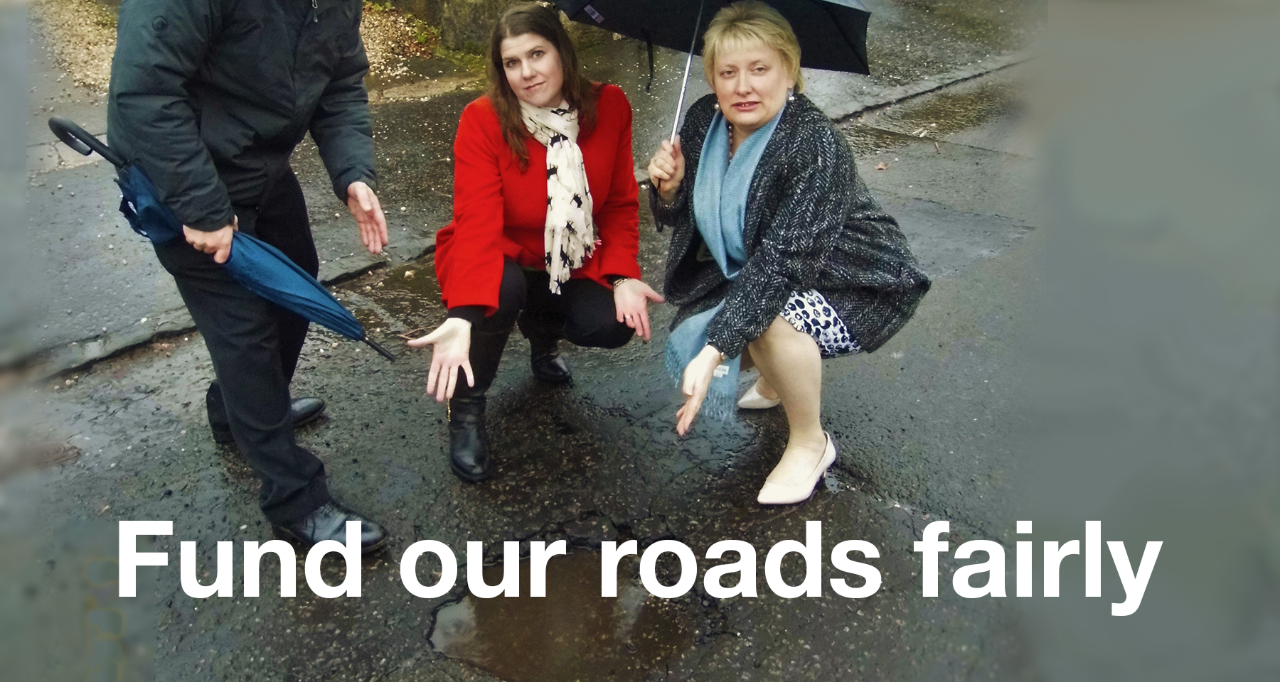 Fund our roads fairly