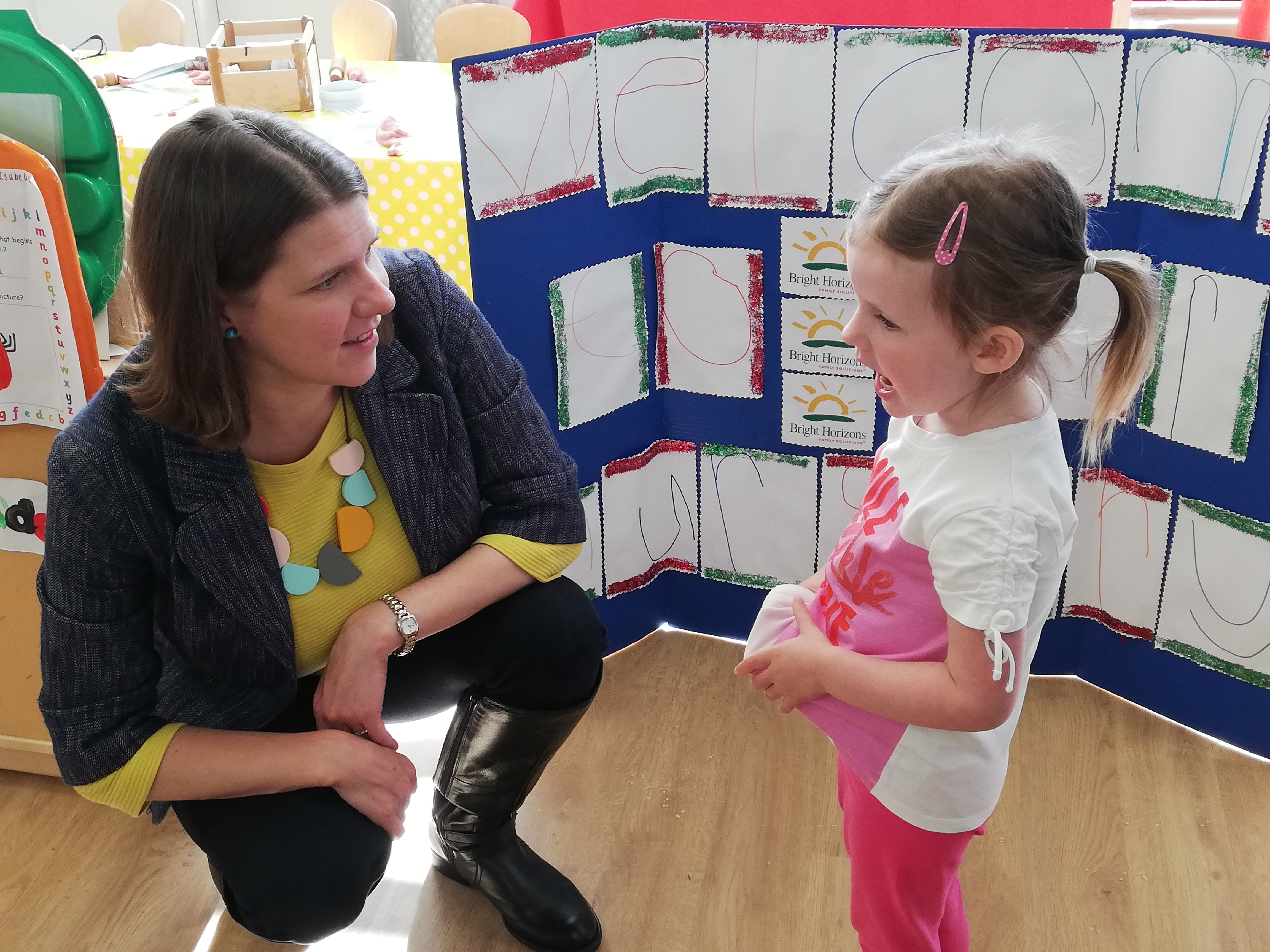 The future is Bright: MP visits Bishopbriggs nursery