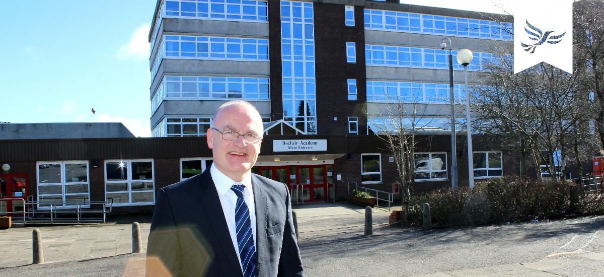 Lib Dems propose Boclair Academy Rebuild