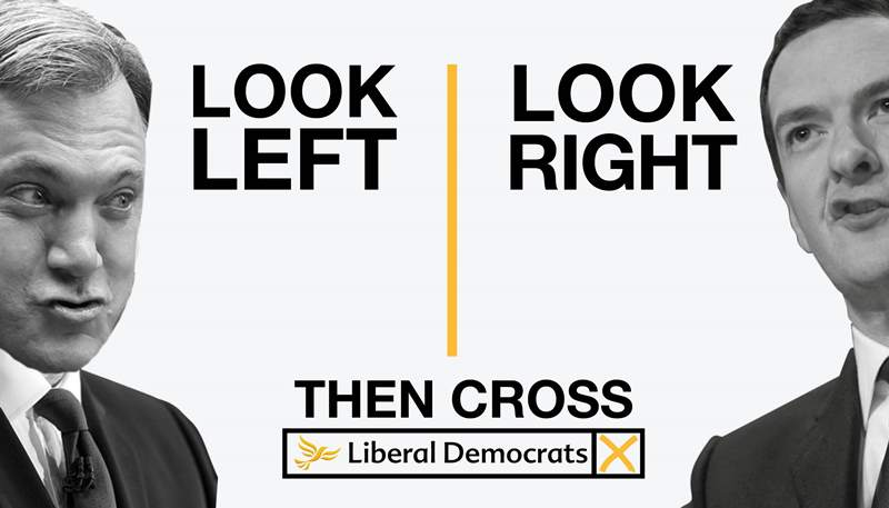 The Economy is Growing - Vote Lib Dem to Make sure