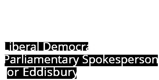 Antoinette Sandbach | Liberal Democrat Parliamentary Spokesperson for Eddisbury