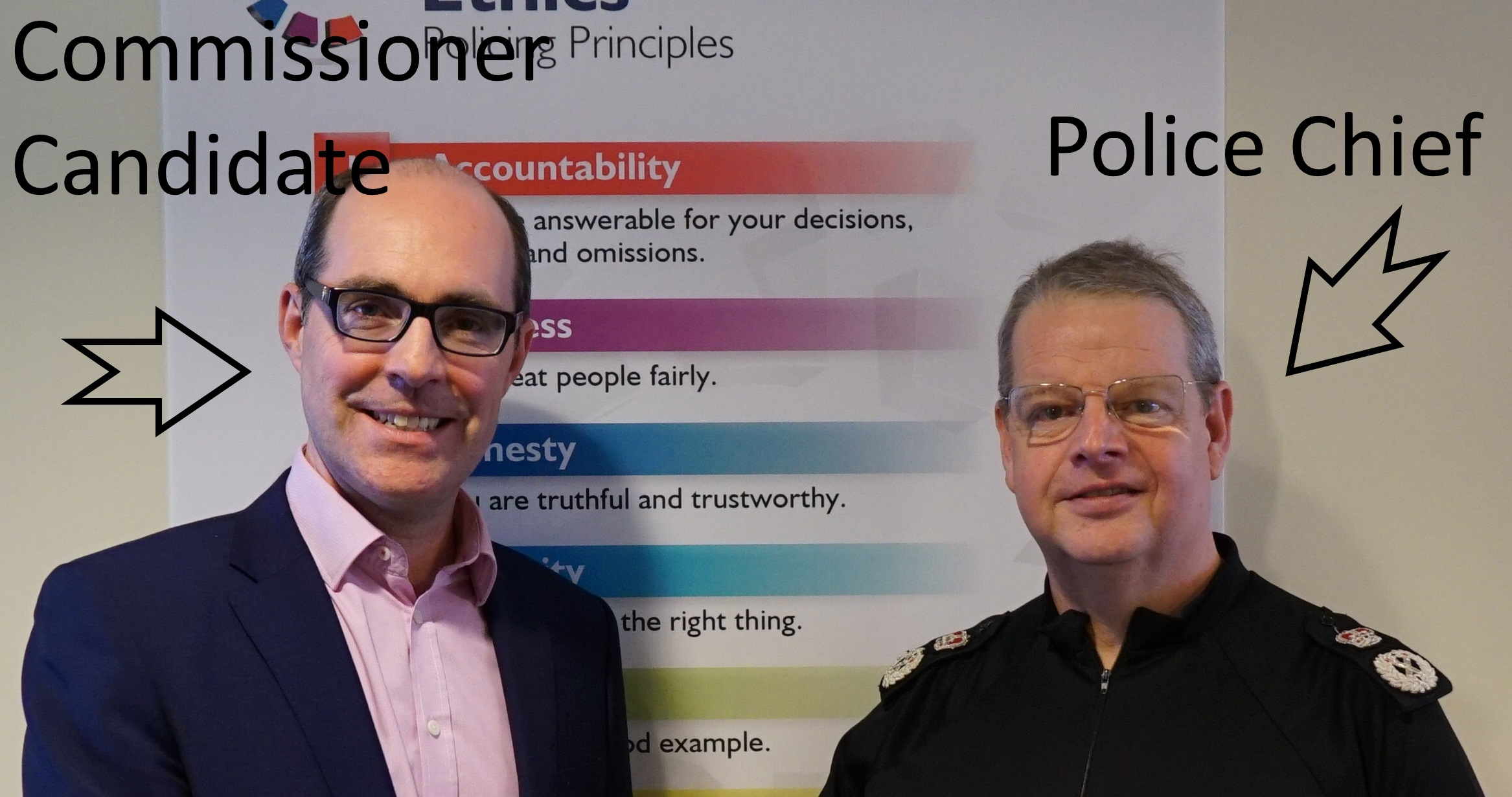 A Commissioner - Not Another Police Chief