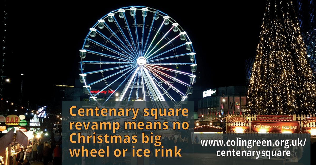 Centenary Square revamp means no Christmas big wheel or ice rink