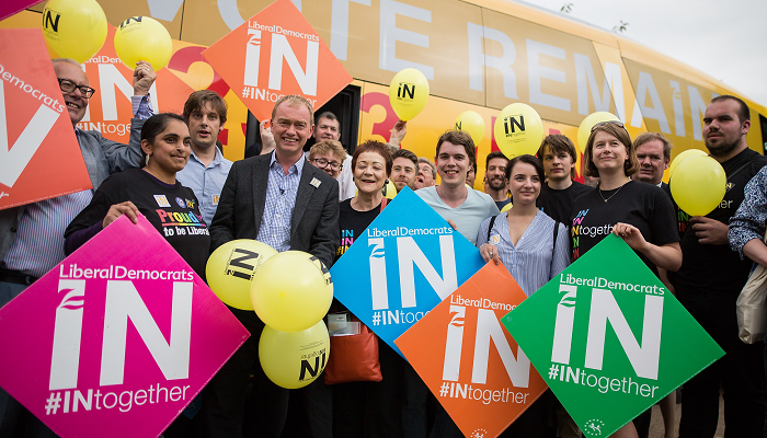 Over 18,000 people joined the Lib Dems since the referendum