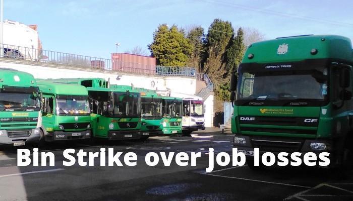 Failed bin plan is the cause of binmen strike over job losses