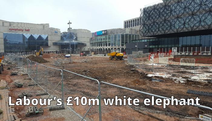 Labour's £10 million white elephant