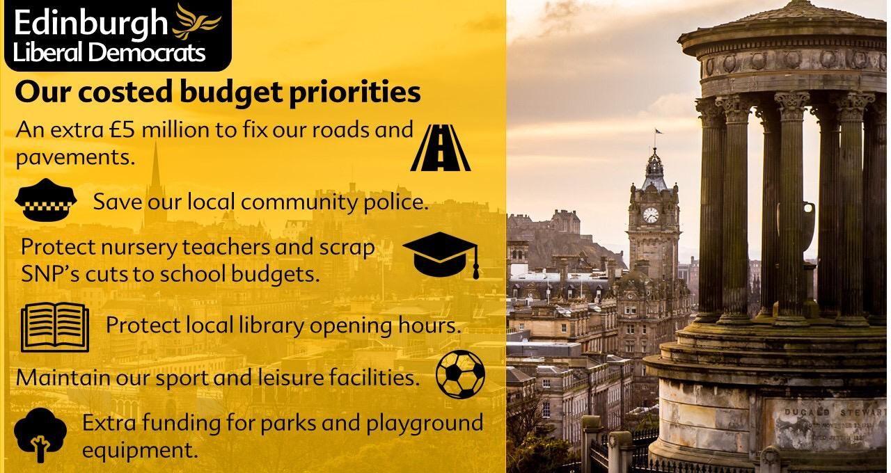 A positive 2020 budget for Edinburgh