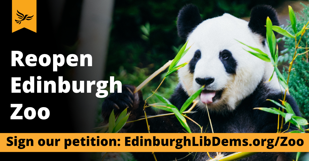 Re-open Edinburgh Zoo