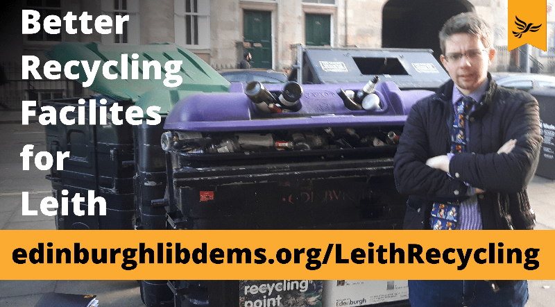 Leith deserves better recycling