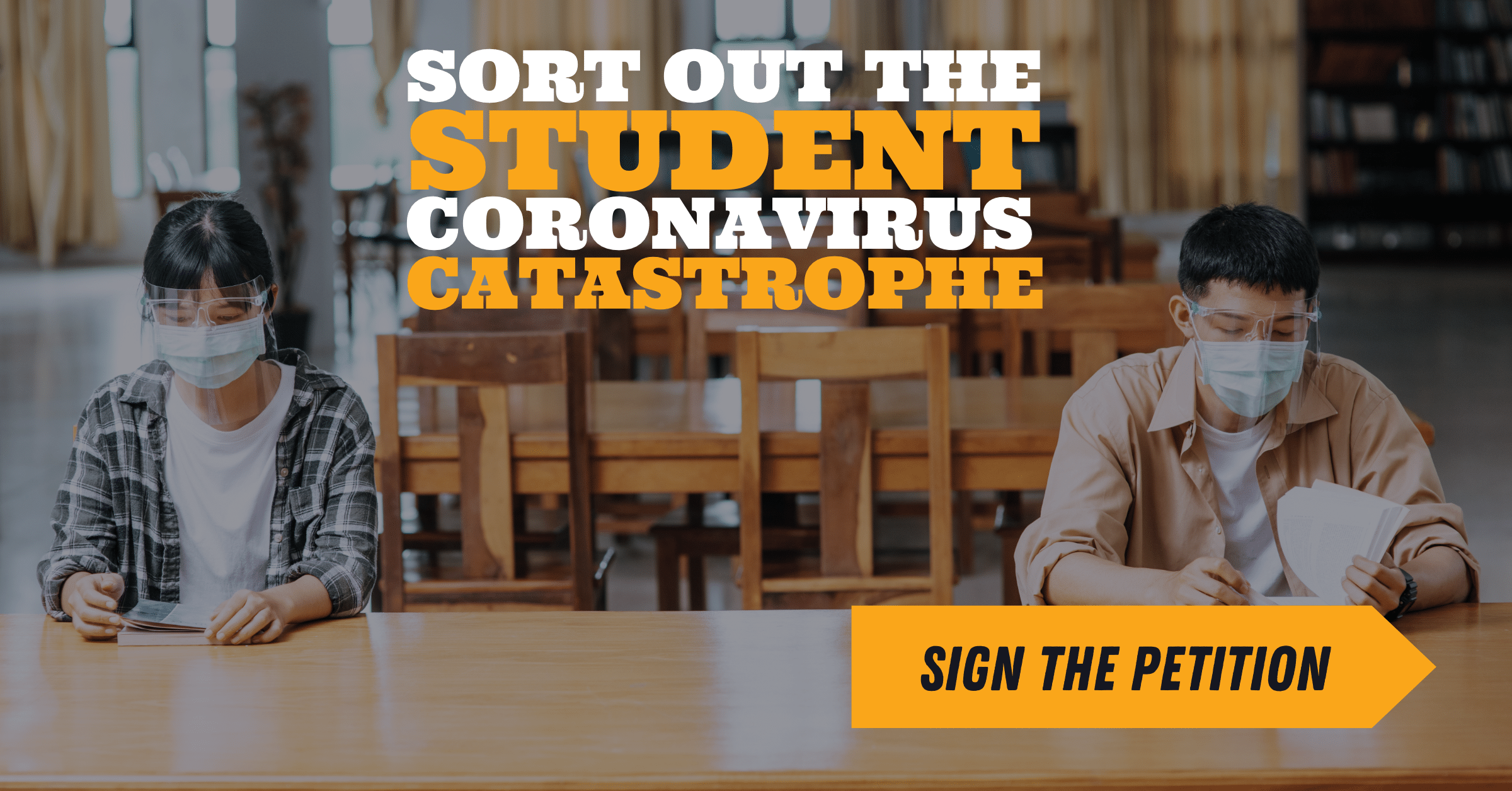Sort out the Student Catastrophe