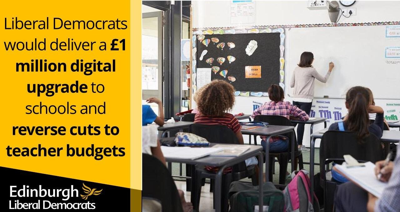 Lib Dems propose increased school funding in face of SNP/Labour cuts