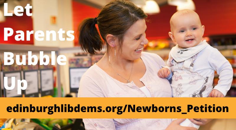 Allow Newborn Parents to 'Bubble'
