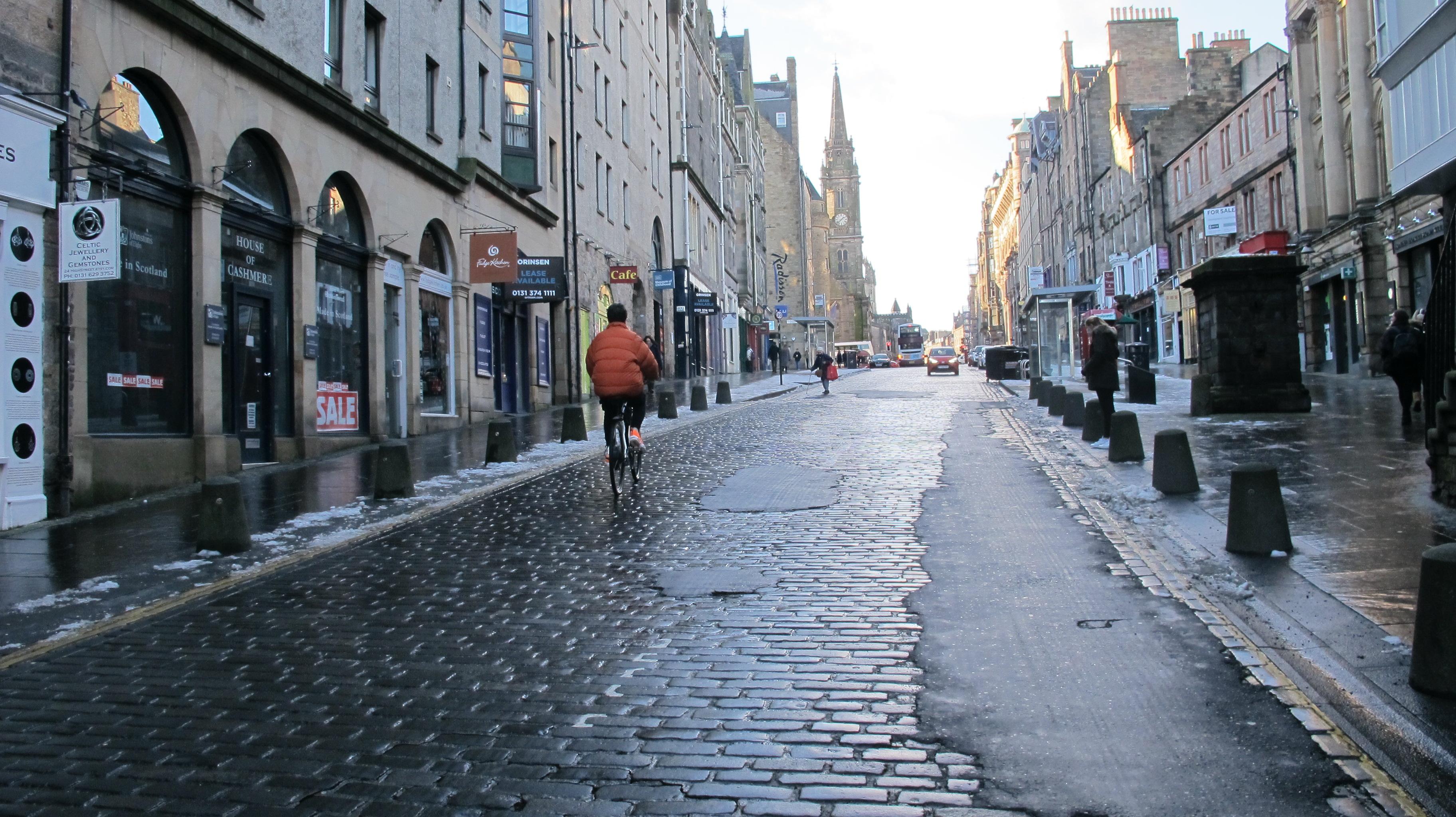 The cost of Edinburgh's pothole damage