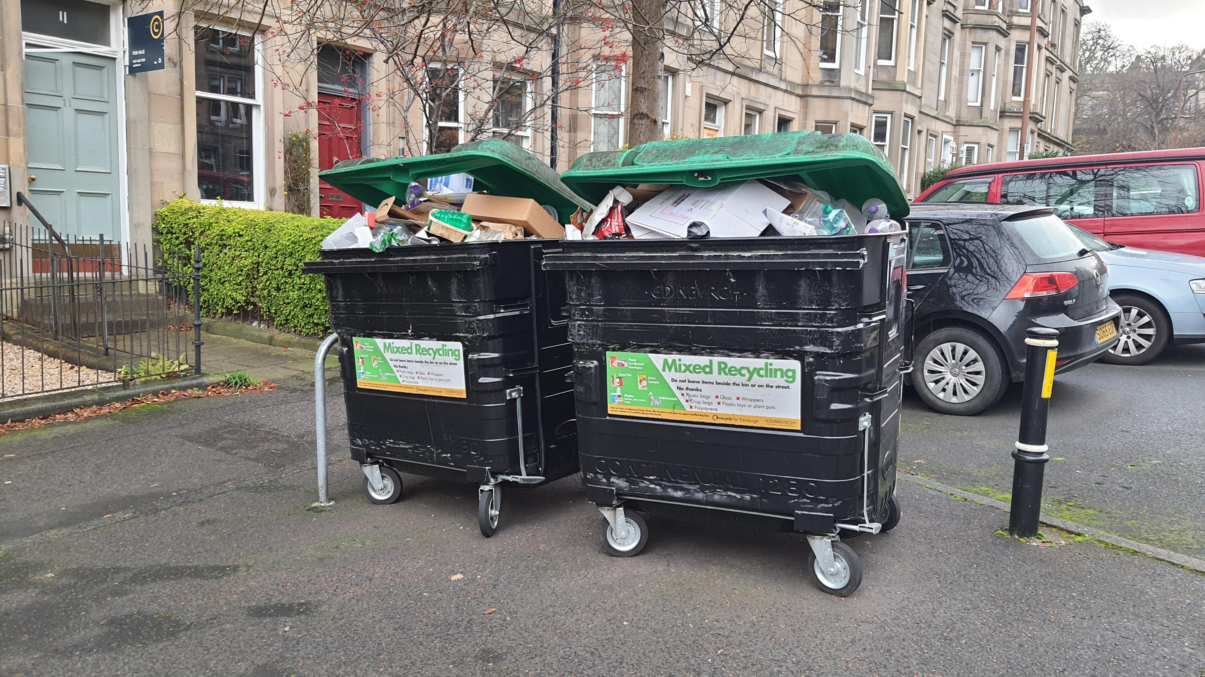 'Pitiful' to blame COVID for falling Edinburgh recycling rates, say Lib Dems