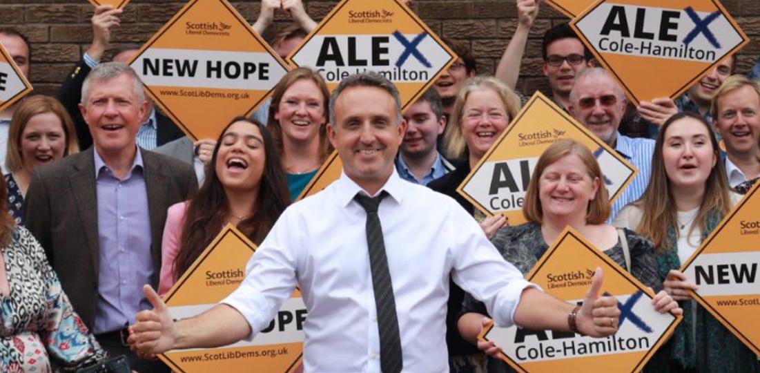 Congratulations to new Scottish Lib Dems leader: Alex Cole-Hamilton