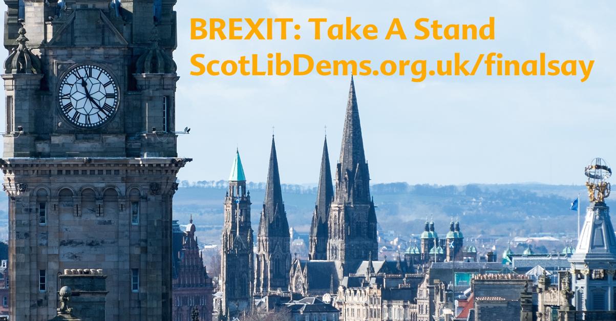 BREXIT: Take a stand for Edinburgh