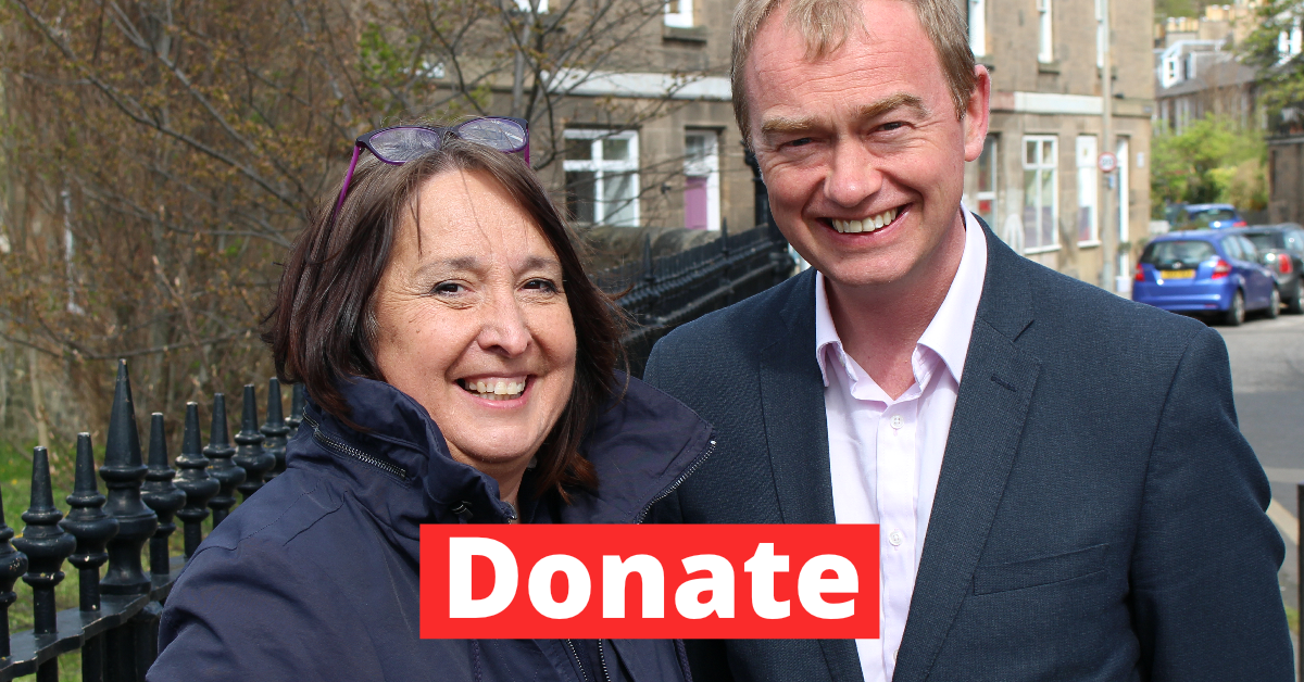 Christine for Edinburgh West - Donate Today!