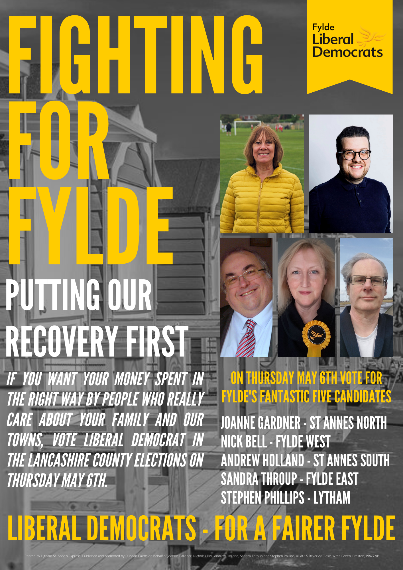Lib Dems for a Fairer Fylde!