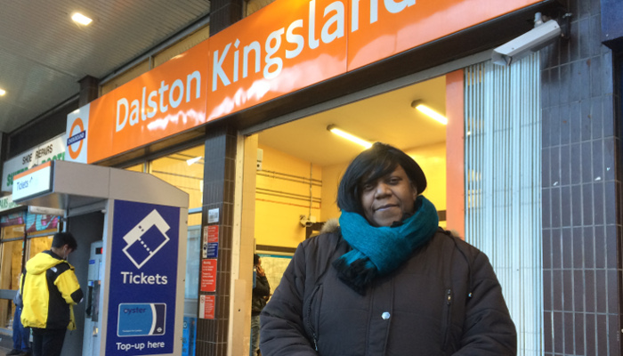 Pauline launches Step-Free Dalston campaign