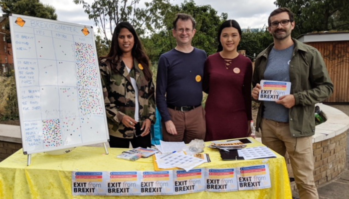People of Hackney Have Their Say on the Lib Dem's Brexitometer