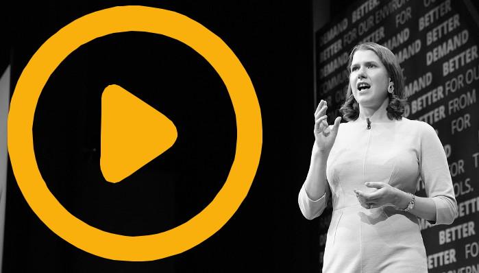 Watch Jo Swinson's Conference Speech