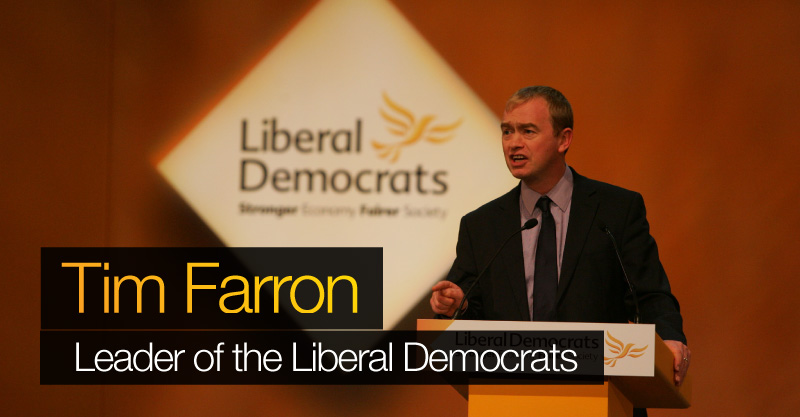 Lib Dems elect Tim Farron as new leader