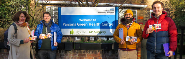 Petition to Save Parsons Green Walk in Centre