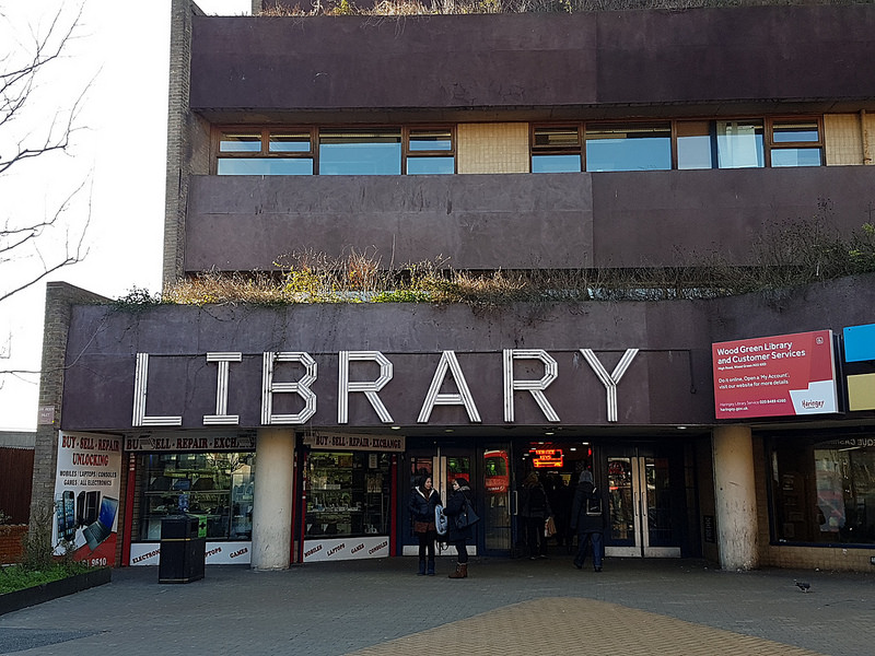 Wood Green Library, one of the properties due to be transferred to the development vehicle