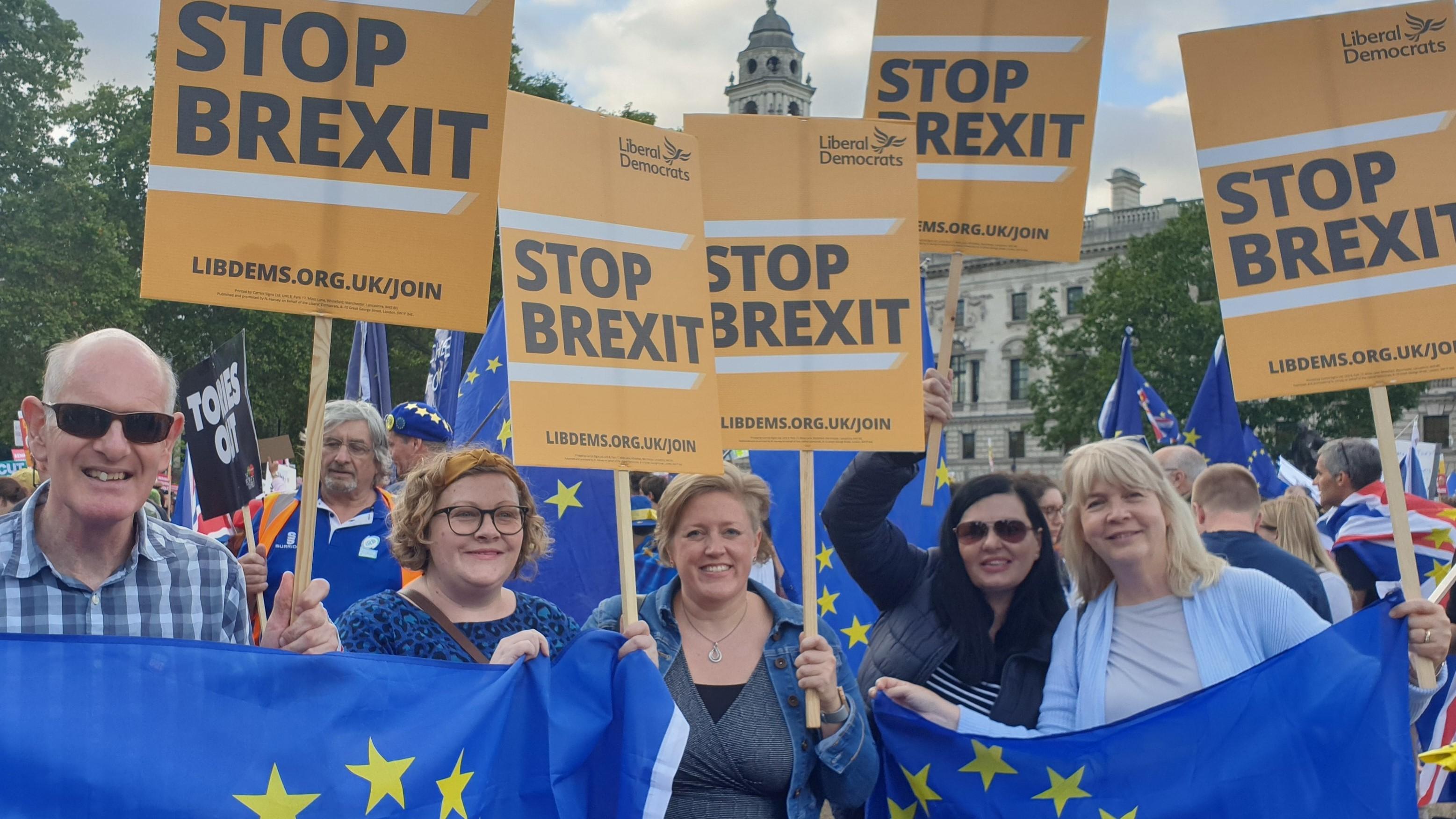 Dawn Barnes backs revoking Article 50
