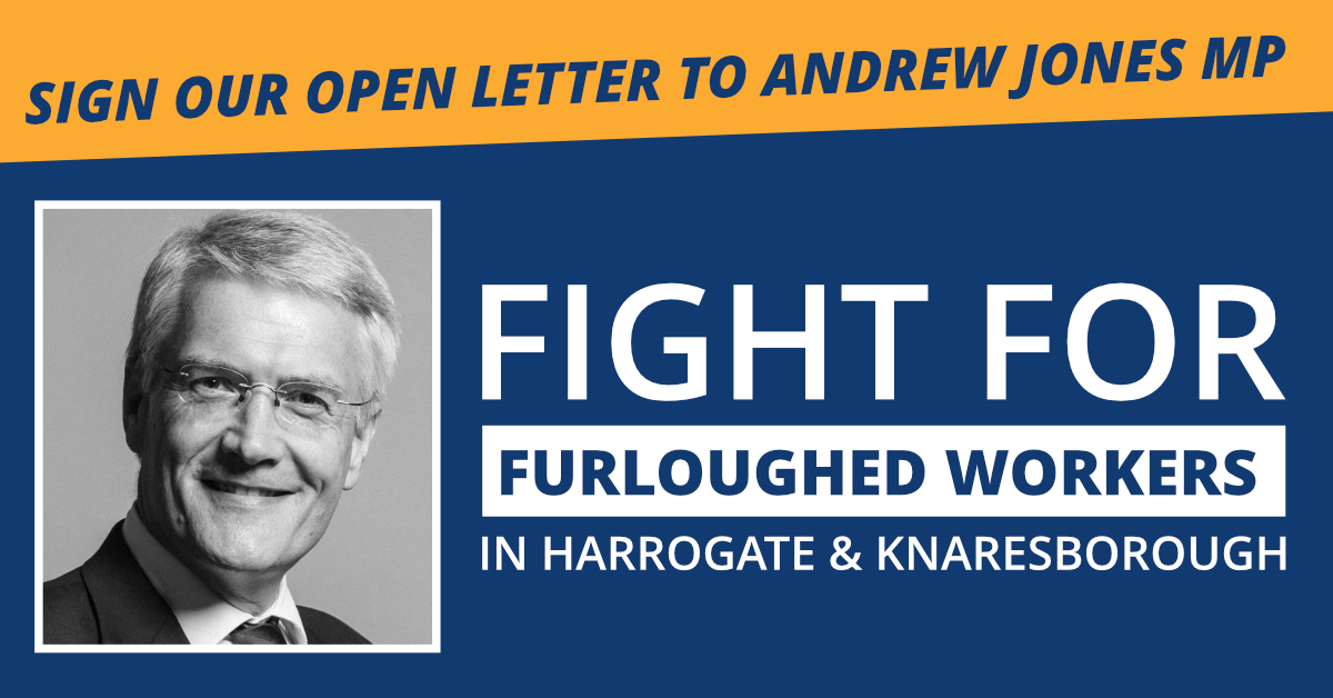 OPEN LETTER ✍️ Andrew Jones: Fight for the Furloughed