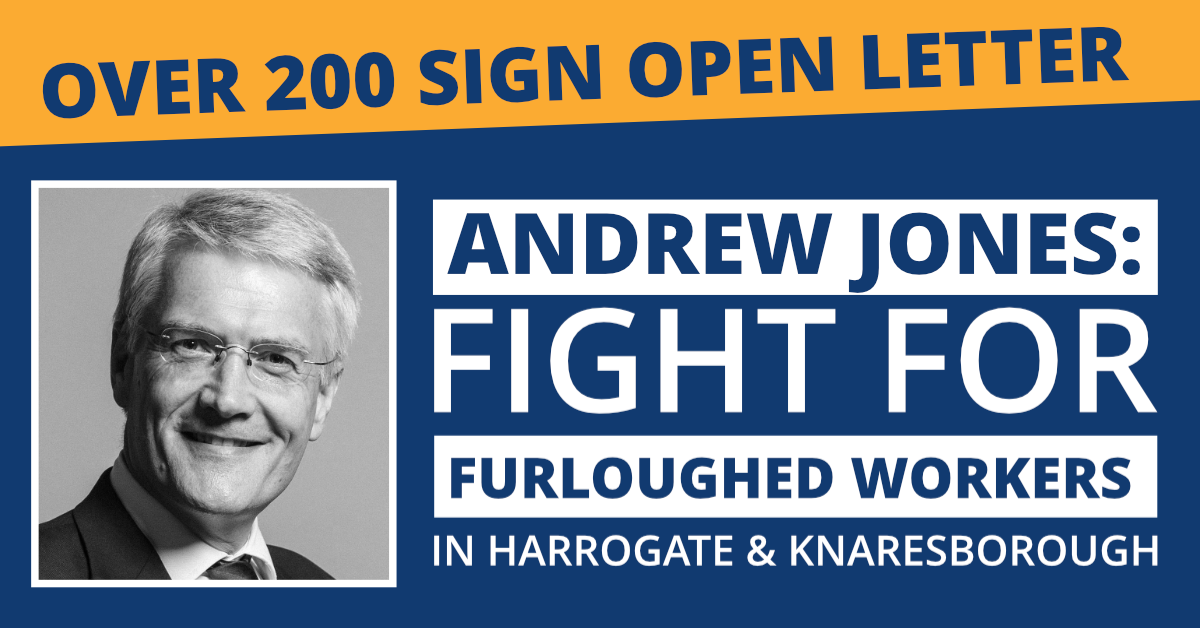 Over 200 Residents Sign Letter Calling On Jones to Fight For Furloughed