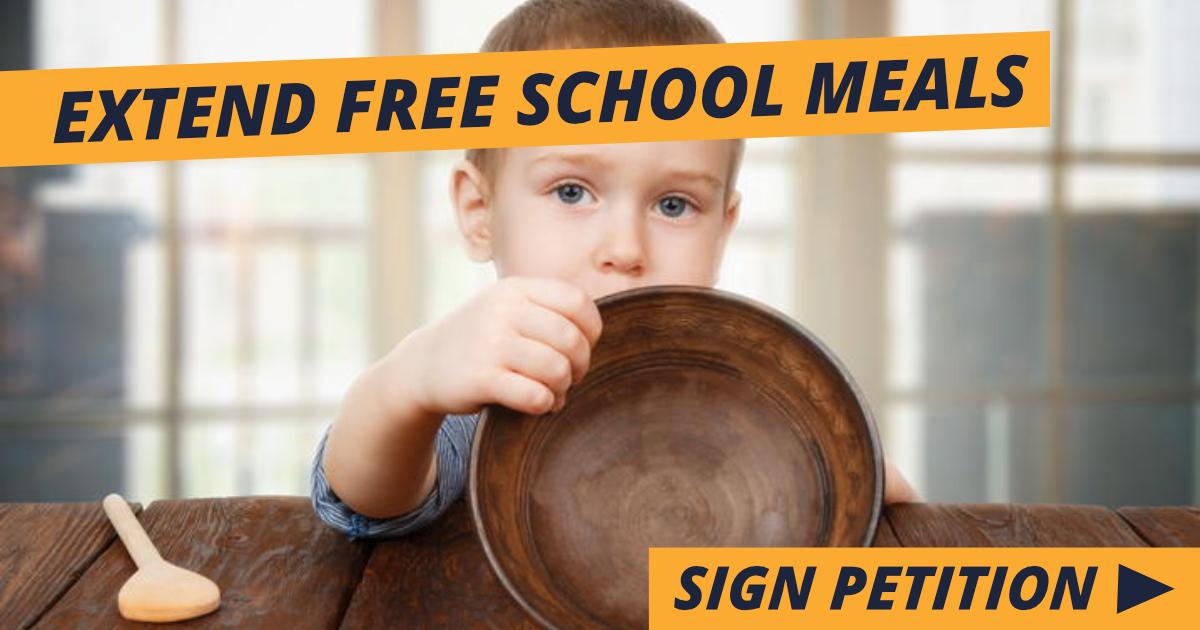 Extend Free School Meals 🍎🍽️