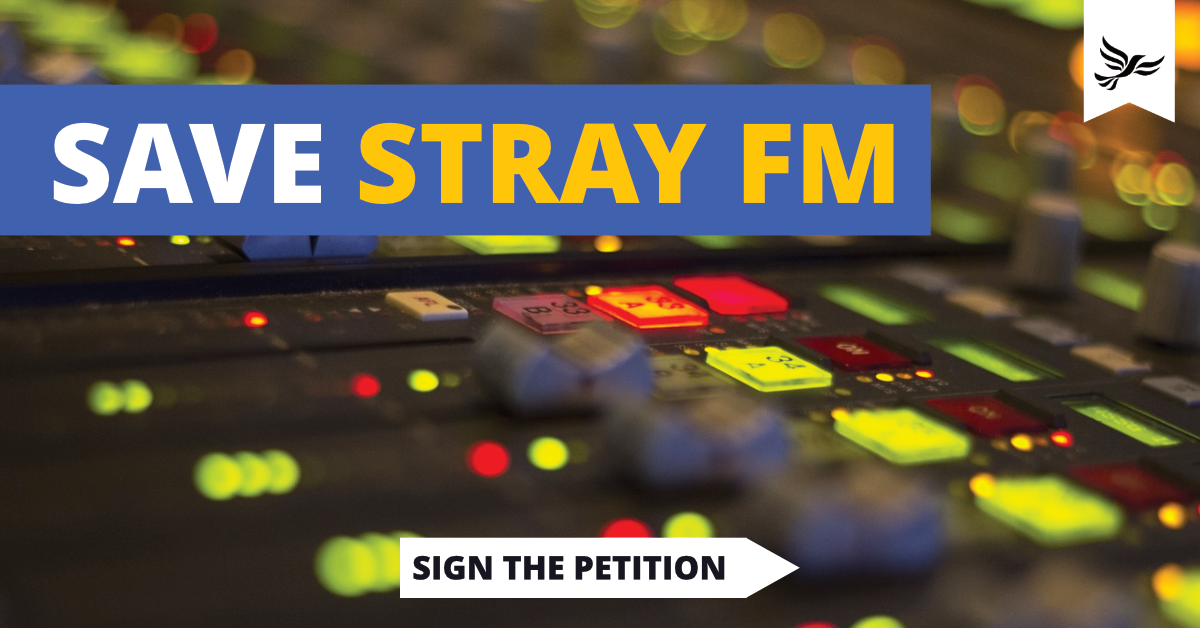 Save Stray FM 🎙️