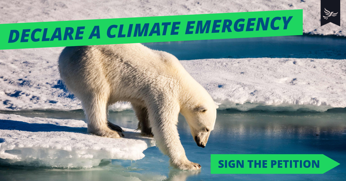 Declare a Climate Emergency 🌍🔥