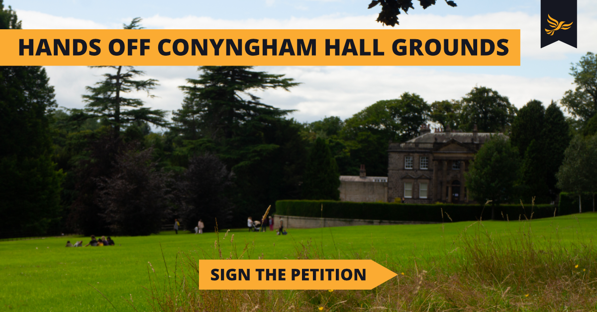 Hands Off Conyngham Hall Grounds  🏛️🌱