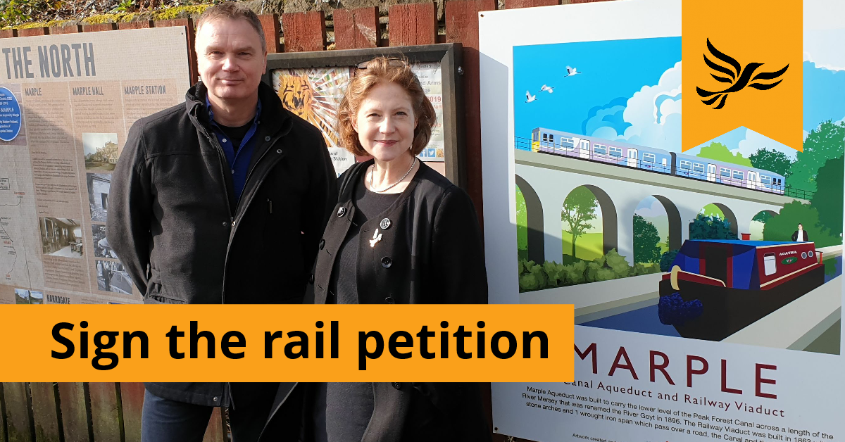 Marple Rail Petition