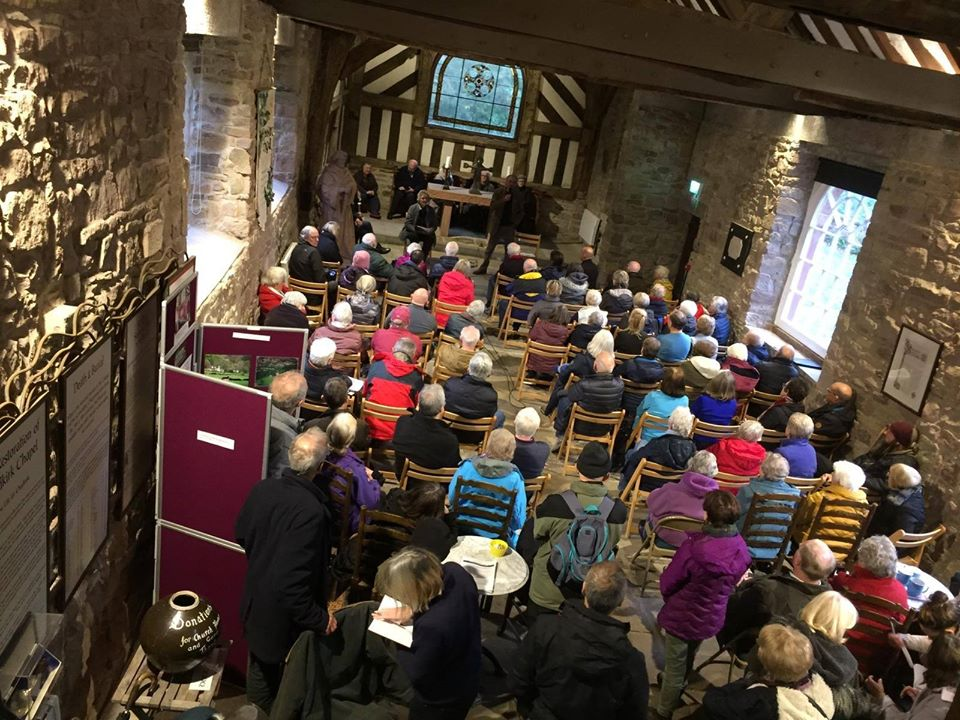 Friends of Chadkirk Chapel meet to try to save the Chapel