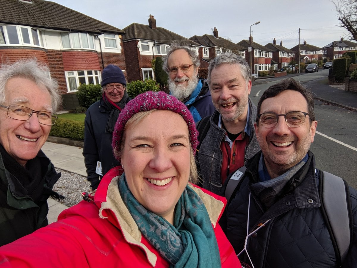 Lisa Smart Andrew Stunell canvassing 2019