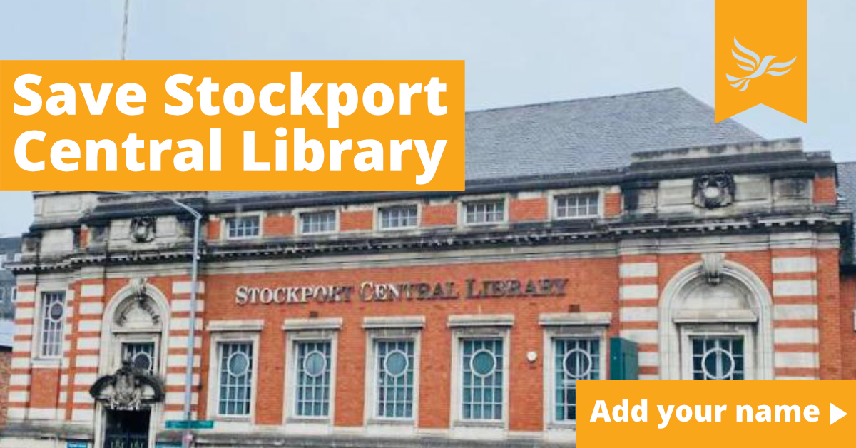 Save Stockport Central Library