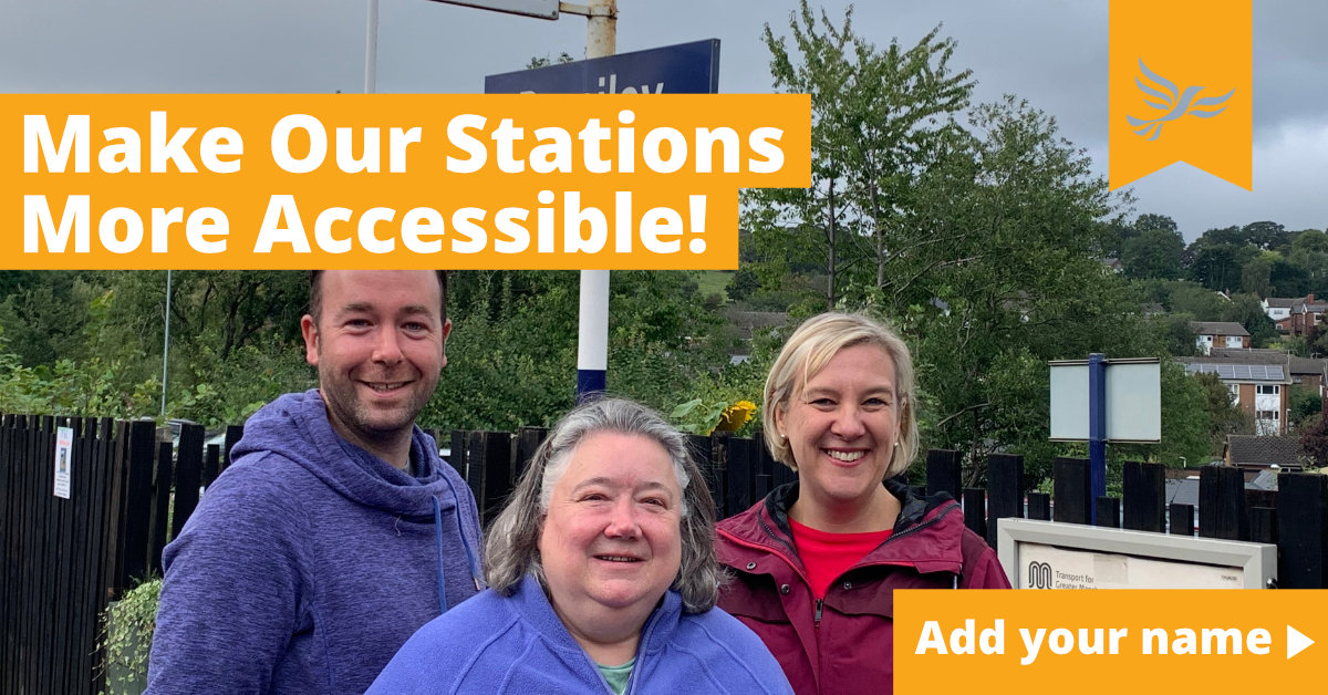 Make Our Stations More Accessible